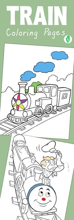 FREE! 56 different coloring pages you can print out in thomas theme - copy coloring pages printable trains