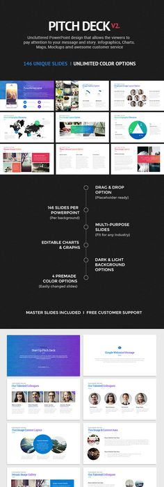 Investor Pitch Deck Powerpoint Template Flowchart Investors And Pitch