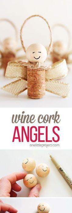 27 most popular christmas ideas batman wreaths and ornament how to make wine cork angels easy homemade christmas giftseasy solutioingenieria Gallery