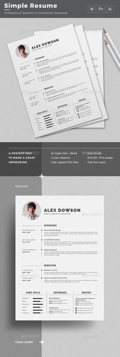 Resume Word  Resume Words Cv Template And Template