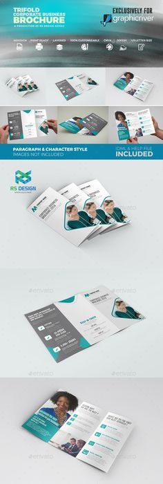 Trifold Brochure Template Indesign Indd Download Here Https