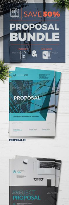 Corporate Business Pro Clean Proposal Template V03 Proposal