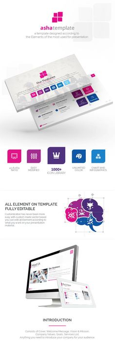 Editable Powerpoint Template Mind Map Framework  Business