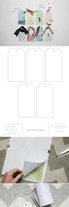Free And Whimsical Gift Tag Templates To Print  Tag Templates