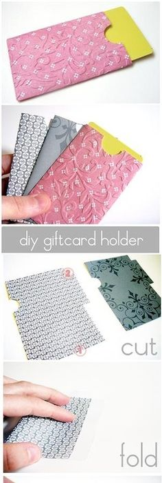 craft wraps and diy envelope diy gift card h could also be a cute way to send your business card out with an etsy order handmade gifts gifts reheart Choice Image