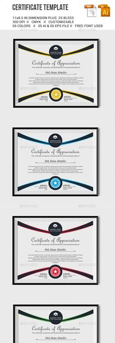 4 in 1 multipurpose certificates bundle certificate template and certificate template certificate template vector eps vector ai download here http yadclub Gallery