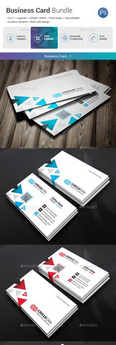 Business card bundle 3 in 1 business cards business and print business card bundle 2 in 1 business cards print templates reheart Choice Image