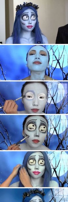 15 Really Cool Halloween Make Up Ideas! Halloween makeup, Makeup - cool makeup ideas for halloween