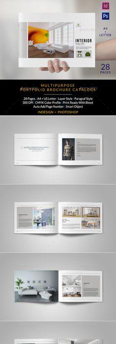 Minimal Fashion Photography Portfolio 2 | Minimal fashion, Indesign ...