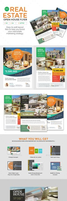 Real Estate Flyer Templates Edit And Print  Flyer Templates