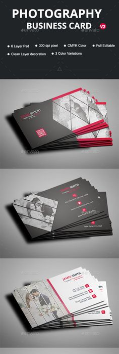 Photographer business card photographer business cards business photography business card template psd more accmission Image collections