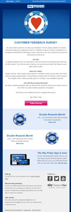 Awesome Survey Email Copy With Personality  Display Banner