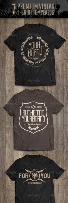 Vintage TShirt Motorcycle  Template Vintage And Shirt Designs