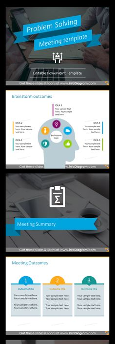 Problem solving meeting template ppt graphics template goal powerpoint template for running effective meeting business meeting type problem solving by defining toneelgroepblik Images