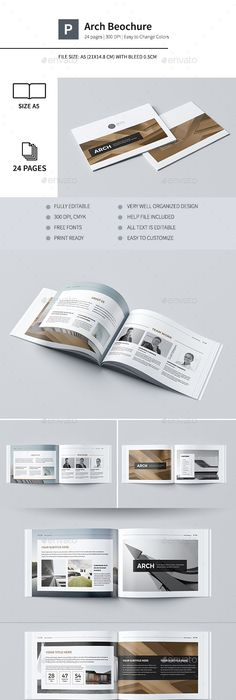 New Modern Architecture Brochure Template Indesign Indd   Pages
