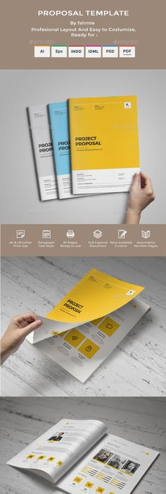 Project Proposal Indesign Template V3 Project Proposal Indesign