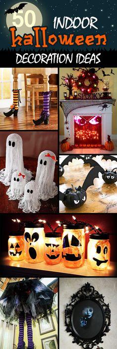20 Dollar Store Halloween Decor Ideas → Halloween craft - halloween decorations indoor ideas