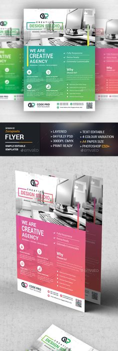 Corporate Flyer Templates  Flyer Template Public Relations And