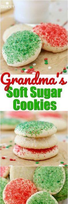 Christmas Cream Cheese Sugar Cookies Recipe Christmas sugar
