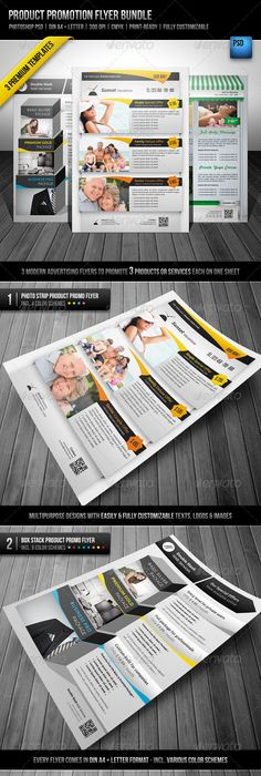 Global - Modern Business Flyer | Business flyers, Template and Business