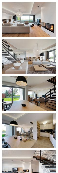 Elegant Interior Of A Duplex Apartment