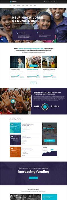 Riana - WordPress Charity Theme | Wordpress