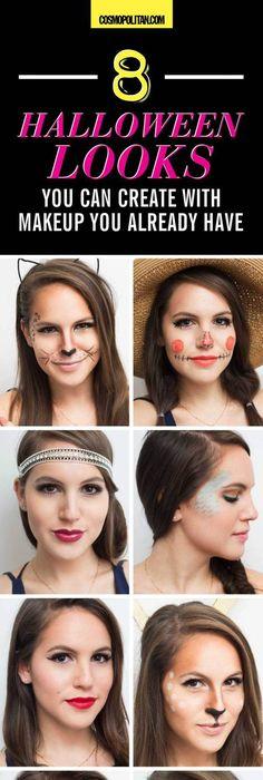 Last Minute Halloween Costume Tutorial Kitty Cat Halloween - cat halloween makeup ideas