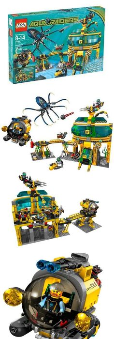 Aqua Raiders Crab Crusher(7774) by LEGO. $78.99. Skeleton guards his ...