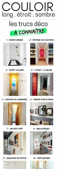 Découvrez 11 astuces idées et conseils qui fonctionnent pour la décoration et laménagement dun couloir long et étroit