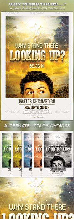 The Hard Way Home Church Flyer Template  Flyer Template Template
