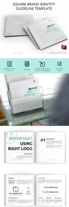 Free Brand Guidelines Template Freepsdfiles Freepsdgraphics