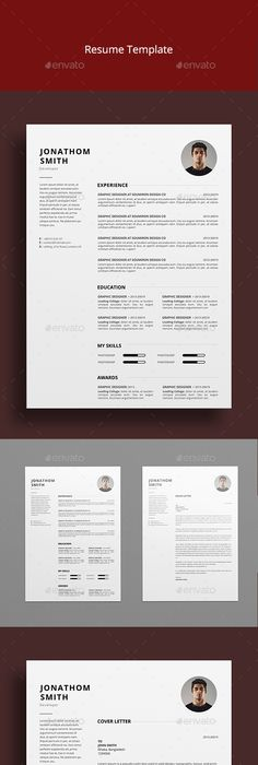 Minimal Resume Is A Resume Template With Simple And Clean Design