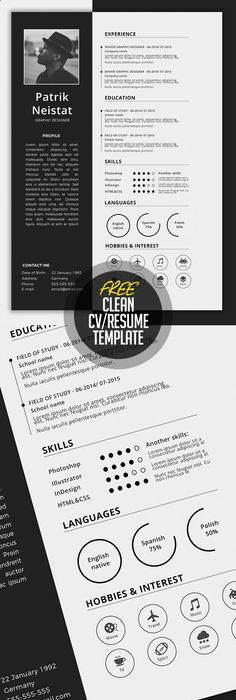 30 resume templates for mac free word documents download school simple cvresume template free download more yelopaper Choice Image