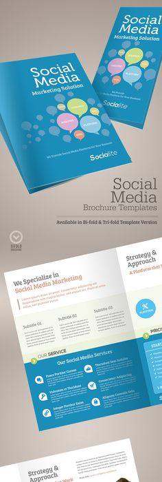 Brochure Template  Indesign  Page Layout   Brochure Template