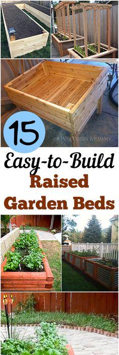 Raised Garden Plot Plans
