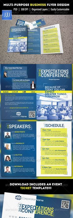 Conference Program Booklet Template Registration Program For