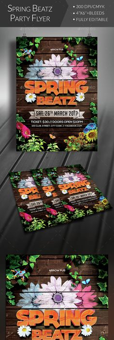 Spring Fest  Flyer Template Template And Event Flyers