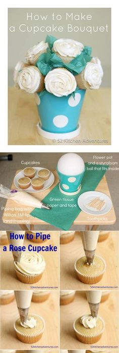 how to make different cupcakes