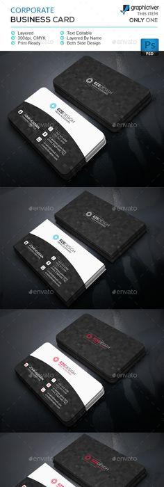 Corporate business card template psd design download http corporate business card template psd design download httpgraphicriver itemcorporate business card13844174refksioks yeni pinterest reheart Gallery
