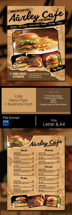 Food Menu Template Psd Download Here HttpsGraphicriverNetItem
