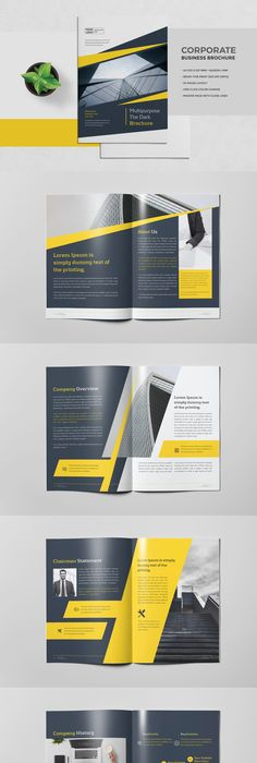 Bifold A Brochure  Brochure Template Brochures And A