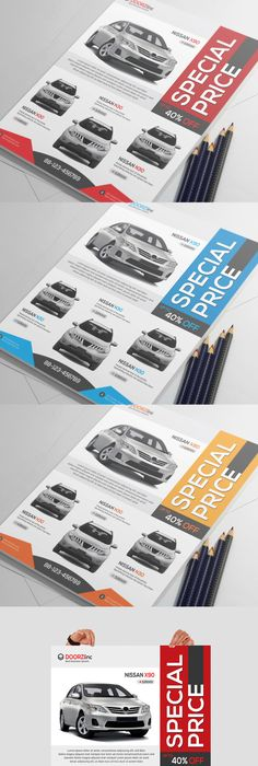 Car Sale Show Flyer Flyer template, Template and Cars
