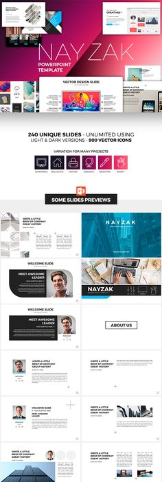Neon Powerpoint Template Template Business Powerpoint Templates