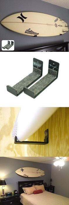 The COR Surf Wood Display Board Rack | Wall racks, Surfboards and Surf