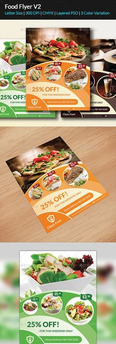 Food Flyer  Flyer Template Authors And Template