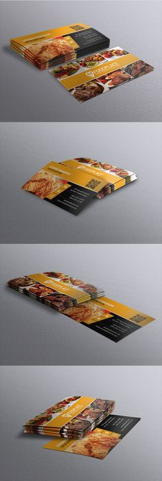 Restaurant business card business card design templates business free restaurant business card template flashek Image collections