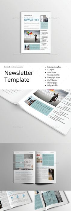 Lots Of Newsletter Flyer Brochure And Business Card Template