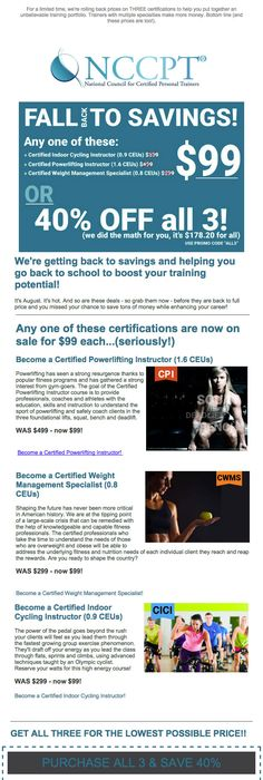 Six month nccpt course extensions for only 25 50 off use coupon get your back to savings deals on our top three certifications 99 for any fandeluxe Gallery