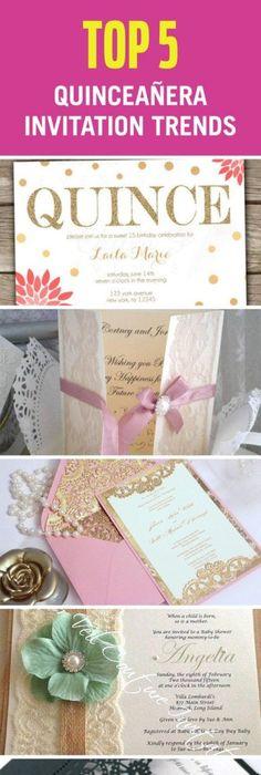 Tips for Designing your Quinceanera Invitations Quinceanera