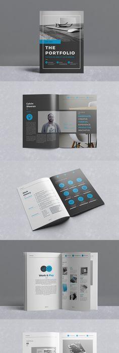 Professional Clean Multipurpose Portfolio Brochure Template